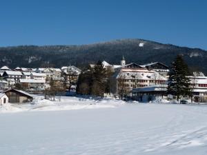 Der Tourismusort Bodenmais im Bayerischen Wald