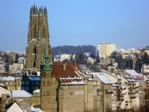 Immer einen Besuch wert: Fribourg in der Schweiz
