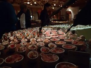 Jede Menge Köstlichkeiten warten im Hotel auf die Gäste