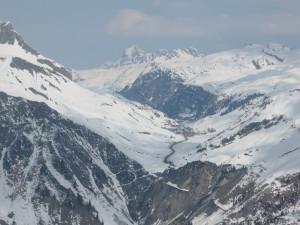 Zürs am Arlberg mit dem Flexenpass