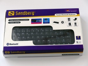 Das Sandberg Pocket Bluetooth Keyboard 630