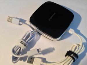 Das Momax iPower M2 Ladegerät besitzt eine Kapazität von beachtlichen 6400 mAh